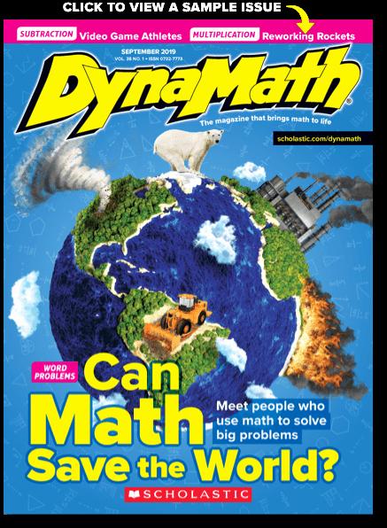 Scholastic Science World Magazine Scholastic Dynamath