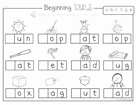 Schwa sound Worksheets Grade 2 Words Starting with Letter M Resources Preschool Letters M