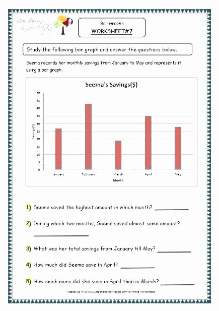 Science Charts and Graphs Worksheets Middle School Science Graphing Worksheets Bar Graph
