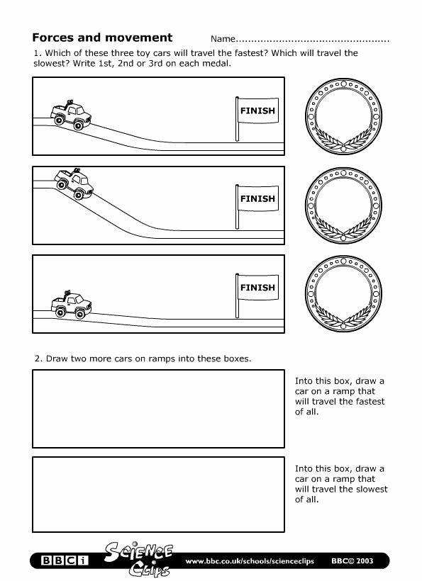 Science force and Motion Worksheets 25 Elegant force and Motion Worksheets