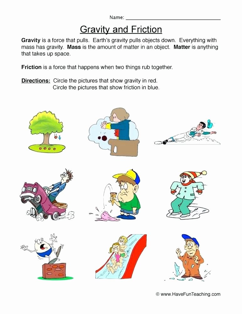 Science force and Motion Worksheets Resources Science force and Motion Worksheets force