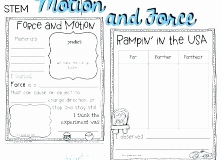 science motion worksheets forces and miss force grade 4th pdf net physical