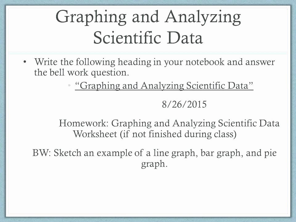 Science Graph Worksheets Interpreting Tables Scientific Data Practice Problems How