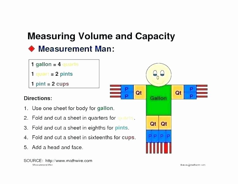 Science Measurement Worksheets Free Measurement Worksheets