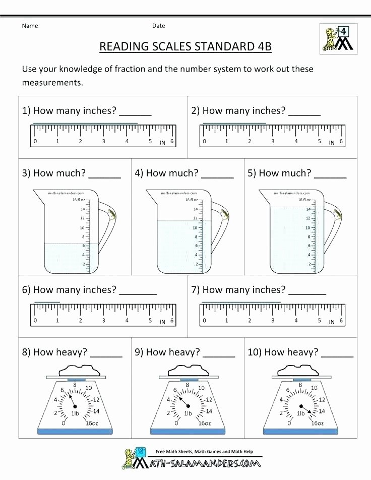 Science Measurement Worksheets Kindergarten Measurement Worksheets Printable Measuring Mass