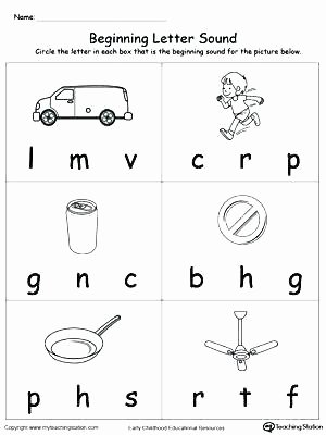 Science sound Worksheets Free Letter sound Worksheets