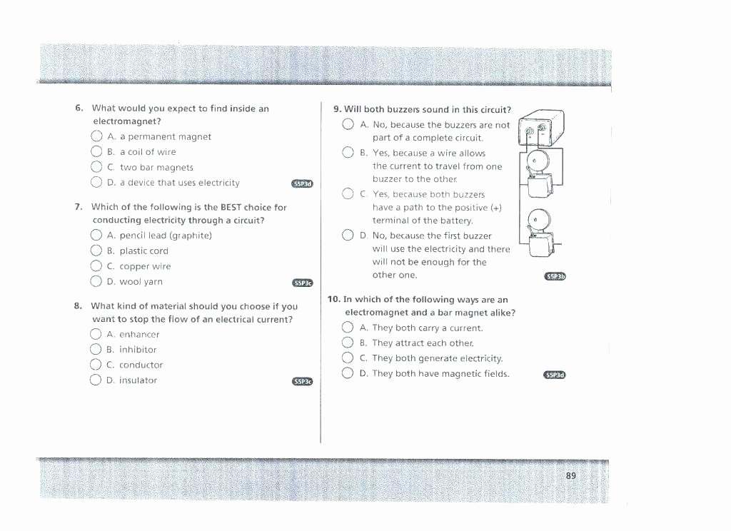 Science Worksheets 7th Grade Electric Circuit Worksheet Grade Collection Electrical