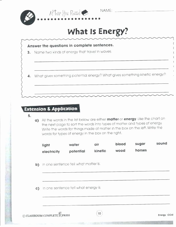 Science Worksheets 7th Grade Grade One Science Worksheets