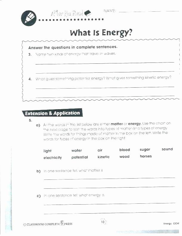 Science Worksheets for 5th Grade Matter Worksheets 5th Grade
