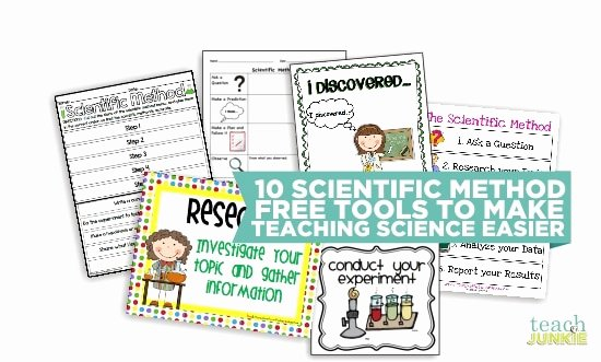 Scientific Method for Kids Worksheets 10 Scientific Method tools to Make Science Easier Teach Junkie