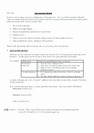 Scientific Method Worksheets 5th Grade 5th Grade Science Printable Worksheets About This Worksheet