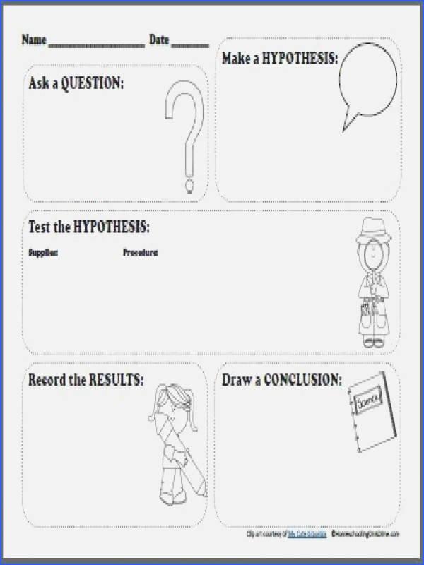 Scientific Method Worksheets 5th Grade Scientific Inquiry Worksheet Redwoodsmedia