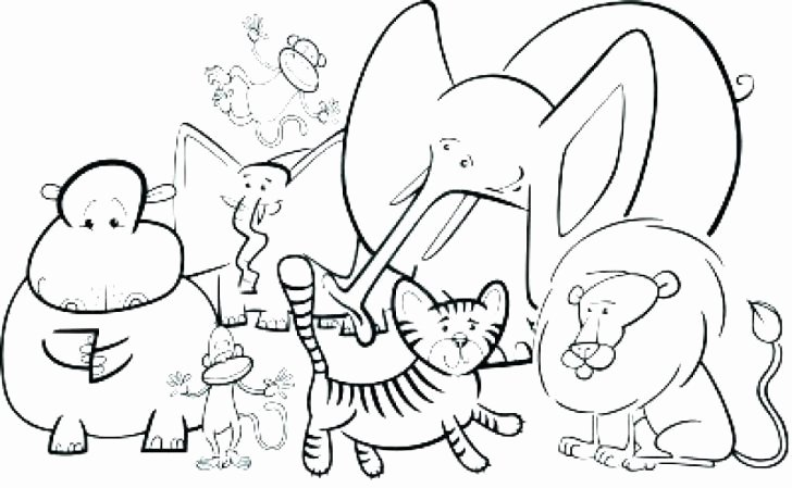 Sea Animal Worksheets 15 Free Preschool Coloring Pages Zoo Animals Blue History