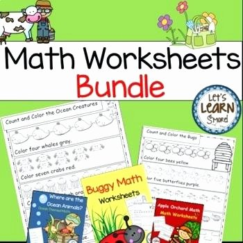 Sea Animal Worksheets Best Animal Math Worksheets Farm Animals Free Sea