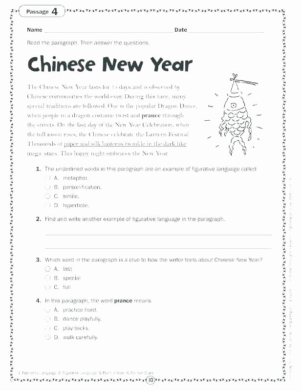 Seasons Worksheets for First Grade First Grade Prehension Worksheets