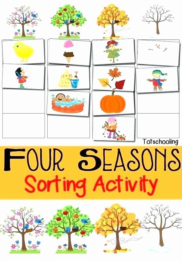 Seasons Worksheets for Kindergarten Seasons Worksheets for Kindergarten