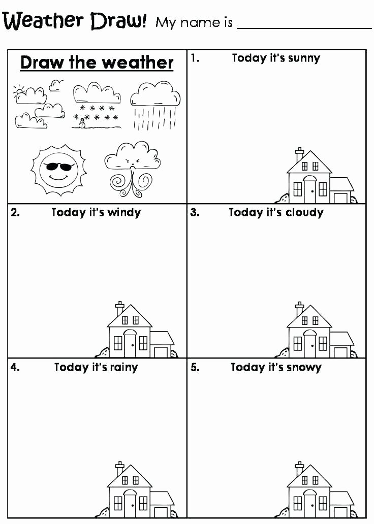 Seasons Worksheets for Preschoolers is and are Worksheets for Kindergarten