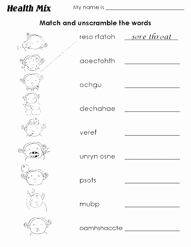 Seasons Worksheets for Preschoolers Kindergarten Body Worksheets