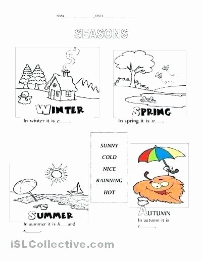 Seasons Worksheets Kindergarten Draw Your Favorite Food Worksheets Galore Preschool