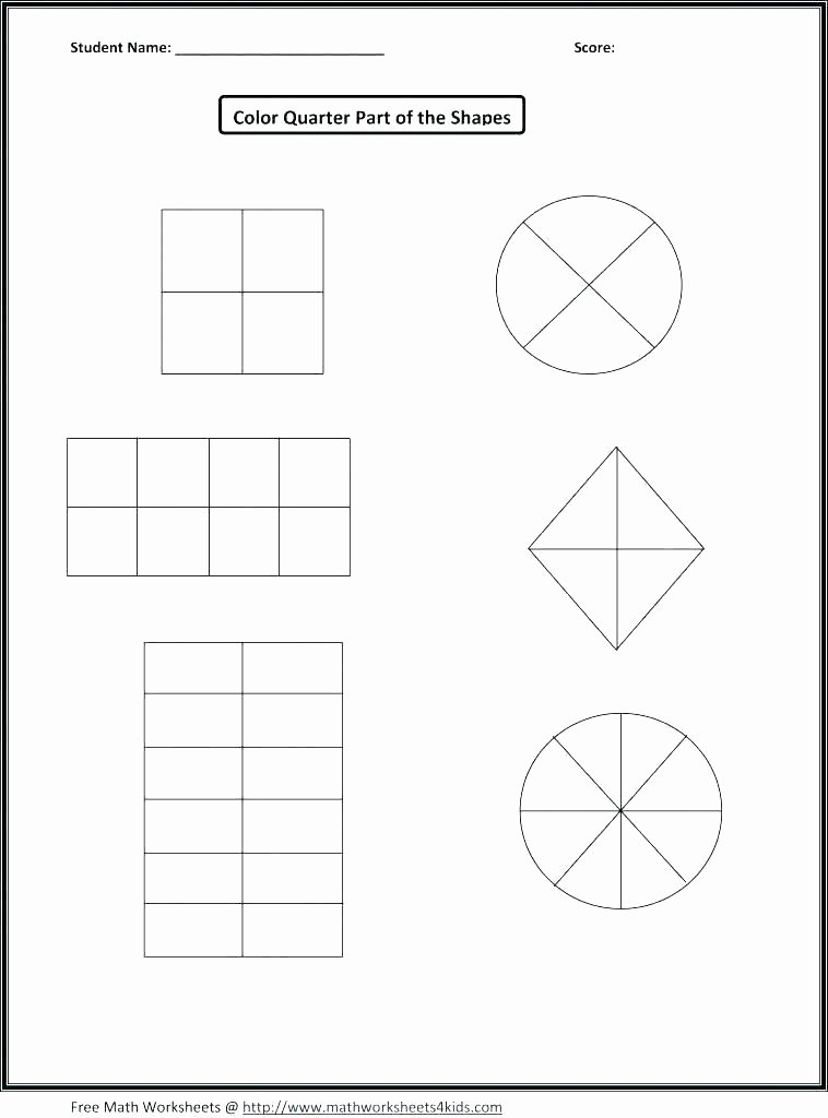 Second Grade Geometry Worksheets Beautiful Free Printable Geometry Worksheets