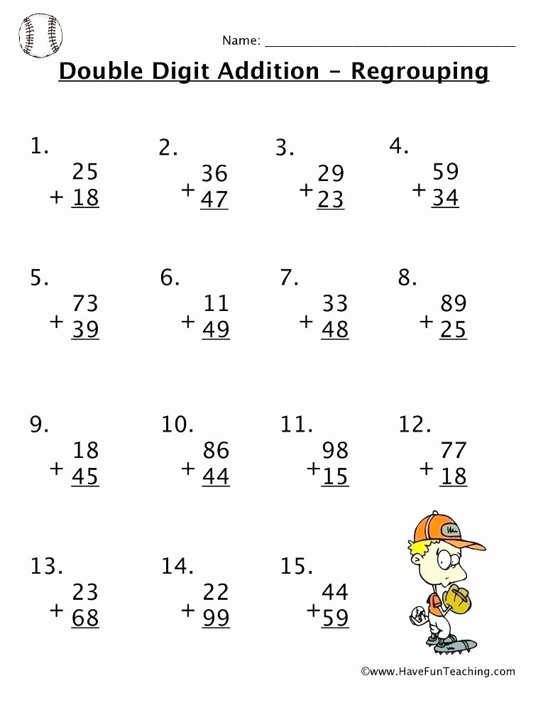 Second Grade Geometry Worksheets Fresh Multiplication Worksheets 2 3 Digit with Answers 6th Grade