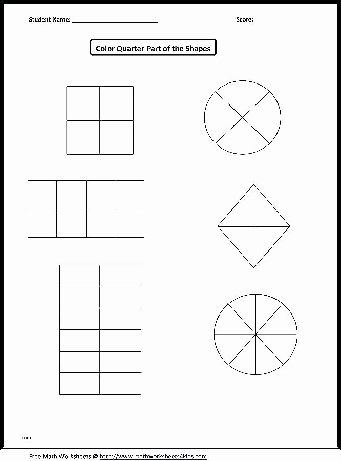Second Grade Geometry Worksheets Lovely Geometric Shapes Worksheets