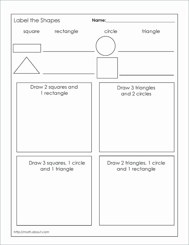 Second Grade Geometry Worksheets Unique Basic Geometry Worksheets Medium Size Worksheet Grade