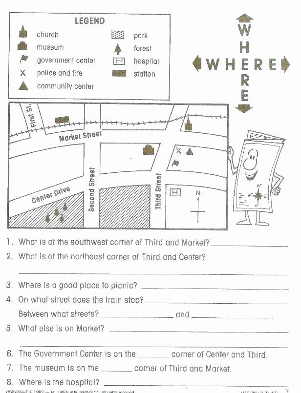 Second Grade History Worksheets 1st Grade social Stu S Worksheets