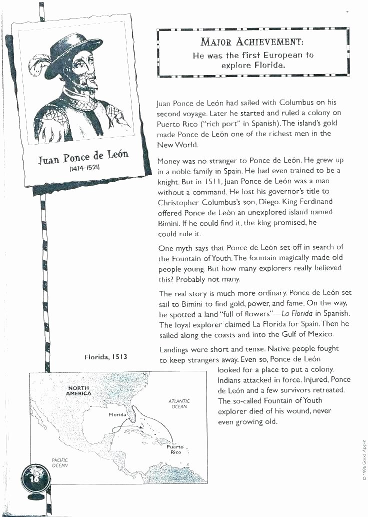 Second Grade History Worksheets Florida History Worksheets – Openlayers