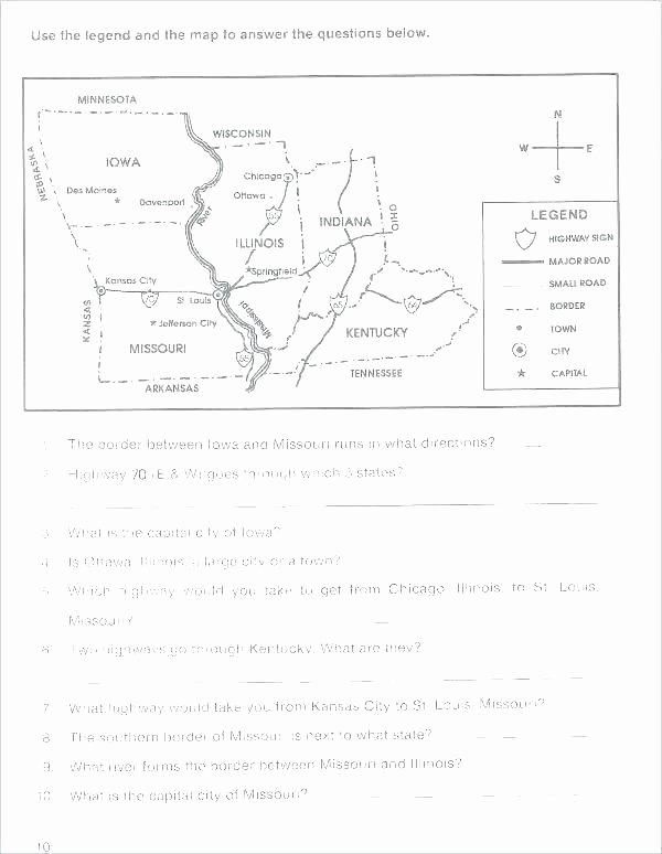 Second Grade Map Skills Worksheets Drawing Map Skills Worksheets for Third Grade Map Skills