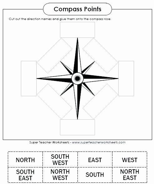 Second Grade Map Skills Worksheets Map Skills Worksheets Pass Worksheet Free for 2nd Grade