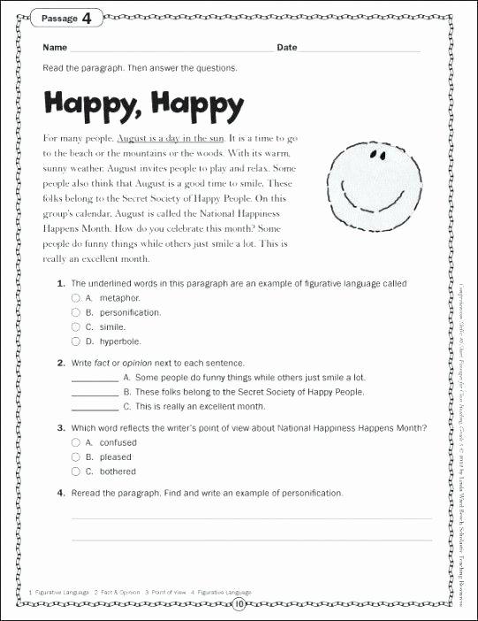Second Grade Map Skills Worksheets Reading Worksheets Grade 5