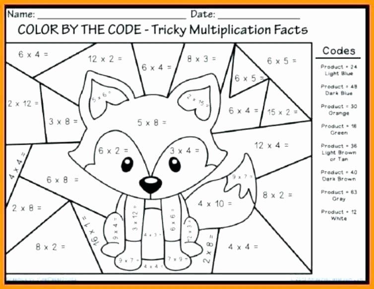 Second Grade Math Coloring Worksheets Grade Math Coloring Pages Printable Math Coloring Sheets