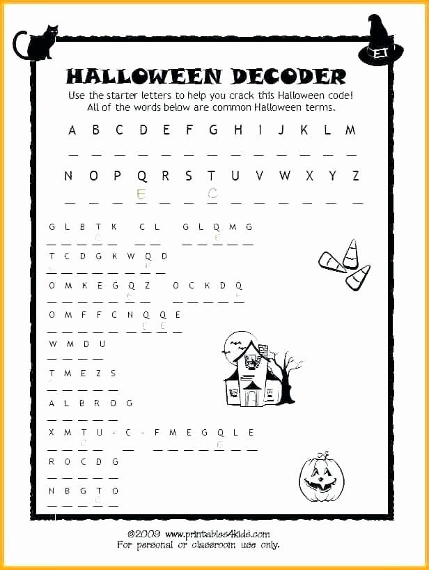 Second Grade Math Coloring Worksheets Halloween Worksheets for 2nd Grade