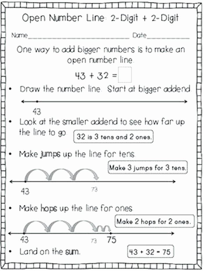 Second Grade Number Line Worksheets Number Line Worksheets for 2nd Grade – Odmartlifestyle