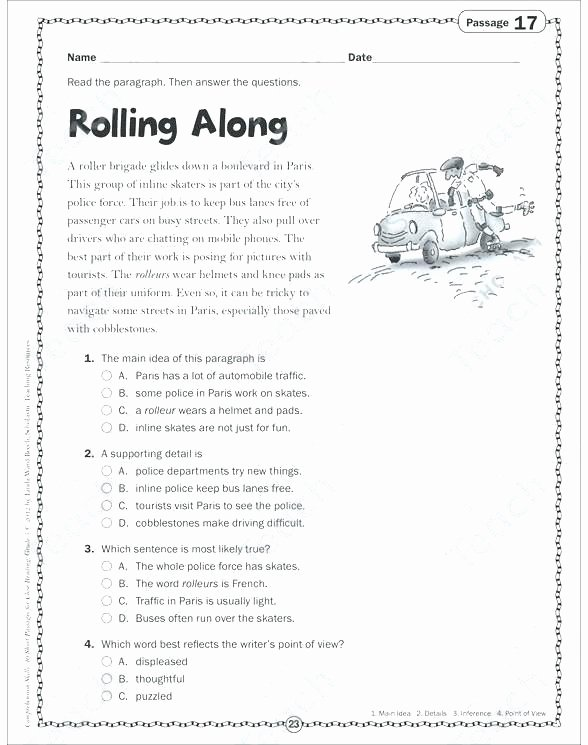 Second Grade Science Worksheets Free Grade Science Worksheets the Art Grade Reading Worksheet