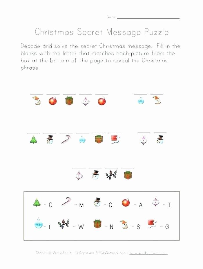 Secret Message Worksheets Fun Math Worksheets Pdf