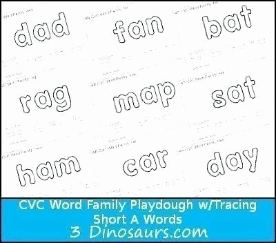 Segmenting Words Worksheets 2 Free Word Family Worksheets Make A Image Below Words