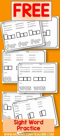 Segmenting Words Worksheets 2130 Best Sight Words Images In 2019