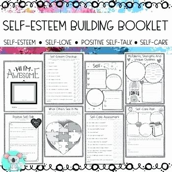Self Esteem Activities Worksheets Free Self Esteem Worksheets Ideas About Printable Positive Wo