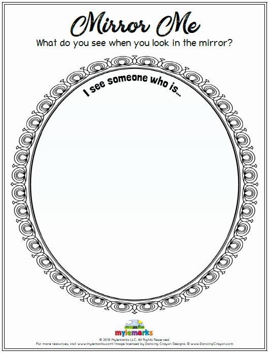 Self Esteem Worksheet for Teens Self Esteem and Confidence Building Worksheets for Kids and
