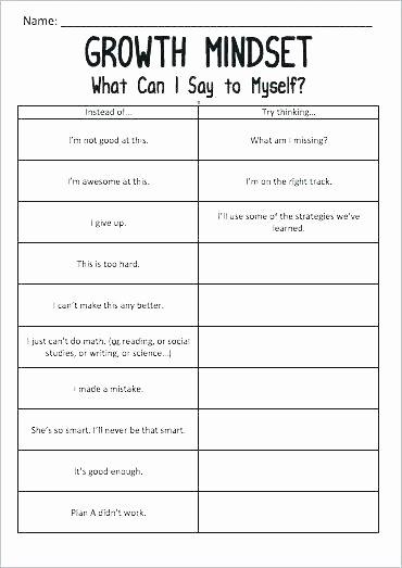 Self Esteem Worksheets Adults Building Self Esteem Worksheets