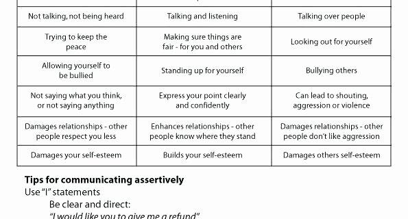 Self Esteem Worksheets Adults Improving Self Esteem Worksheets