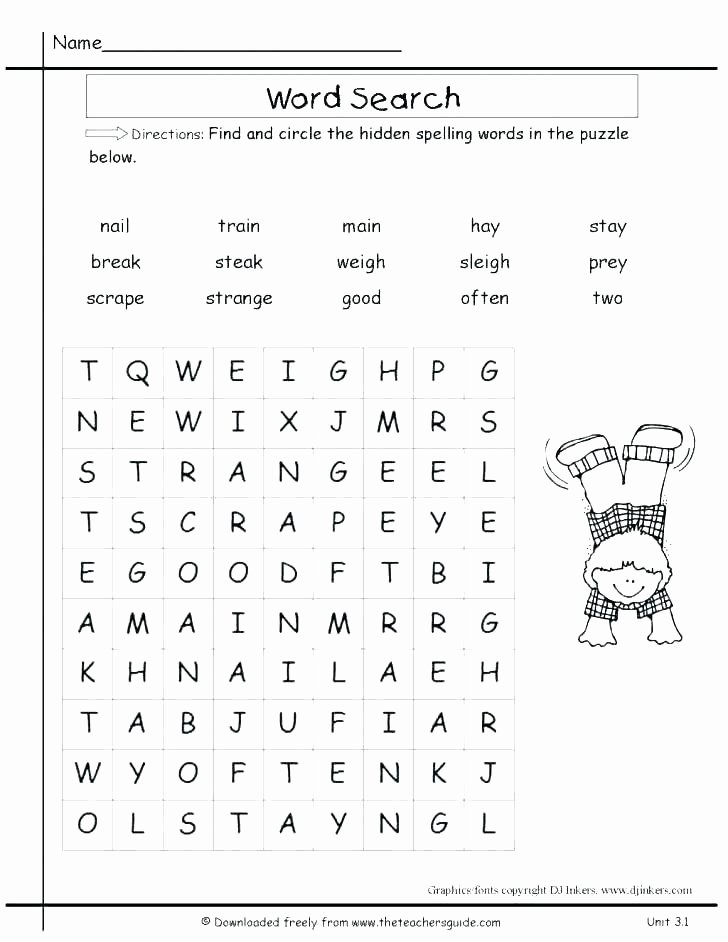 Self Esteem Worksheets for Adults Free Word Search Printable Worksheets Kindergarten Puzzles