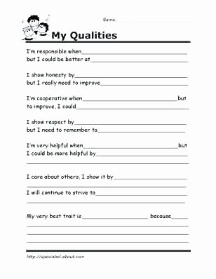 Self Esteem Worksheets for Adults Goods and Services Worksheet Have Fun Teaching Worksheets