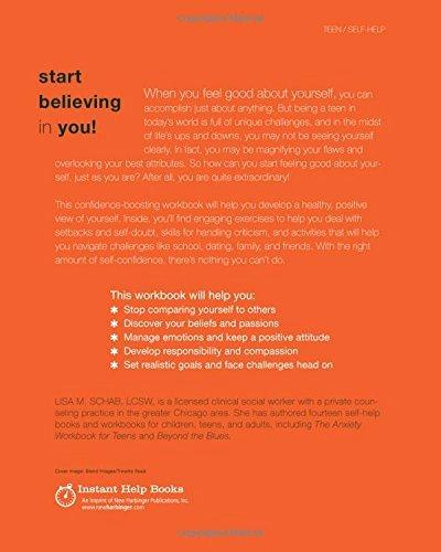 Self Esteem Worksheets for Kids the Self Esteem Workbook for Teens Activities to Help You