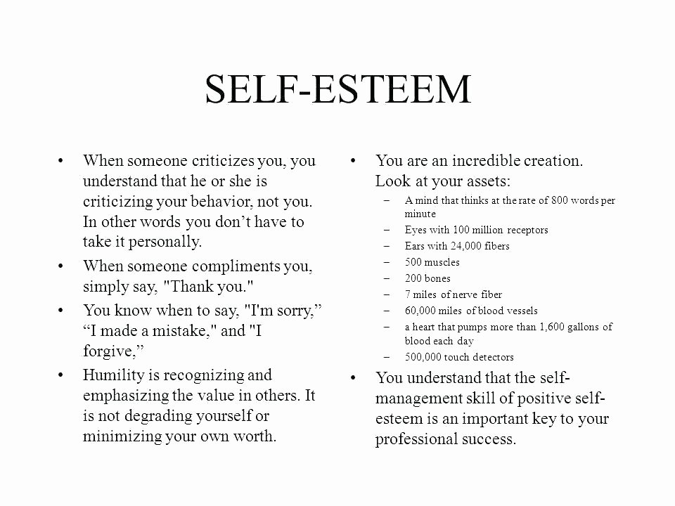 Self Esteem Worksheets for Teenagers Lovely Self Esteem Printable Worksheets for Kids