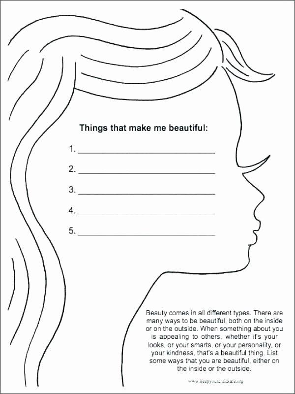 Self Esteem Worksheets for Teenagers Unique Free Printable Self Esteem Worksheets Download social Work