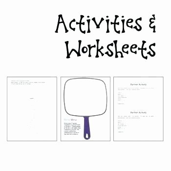 Self Esteem Worksheets for Teens Free Printable Self Esteem Worksheets Download Activity