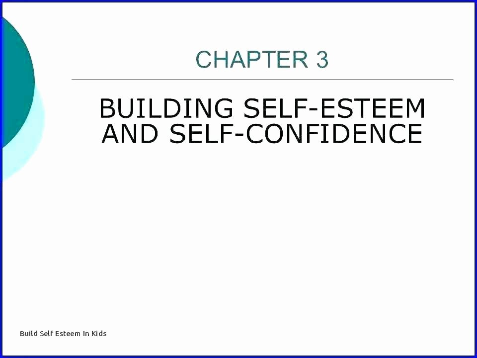 Self Esteem Worksheets for Youth Building Self Esteem Worksheets